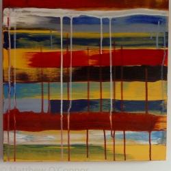 46 cm x 46 cm Acrylic on canvas