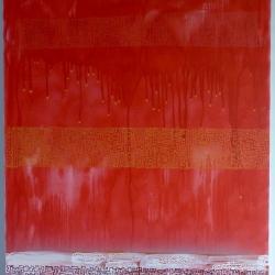 101 cm x 76 cm Acrylic and gouache impasto on canvas